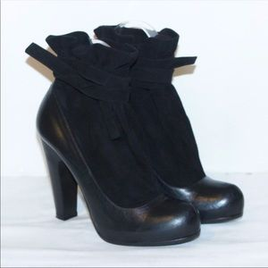 Marc by Marc Jacobs Leather & Suede Ankle Booties